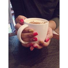 https://www.instagram.com/explore/tags/qteanails/ &// Waiting for Christmas at #starbucks //& #nailart #red #gold #heart #nailsoftheday #capuccino #cinamon #nailsinspirations #nailstoinspire #nails2inspire #cute #likeforfollow #follow4follow #like4like #likeforfollow #qteanails