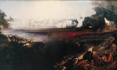 """The Last Judgement"" by John Martin"