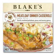 Blake's Meatloaf Dinner Casserole: We taste-tested healthy frozen meals. Here are the freshest, healthiest and most appetizing microwavable dinners.