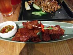 Green Peppercorn – Marinated dried beef A: 1 B: 2 Green Peppercorn, Beef, Food, Meat, Essen, Meals, Yemek, Eten, Steak