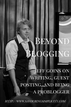 How To Blog Better: An Interview With Jeff Goins On Persistence