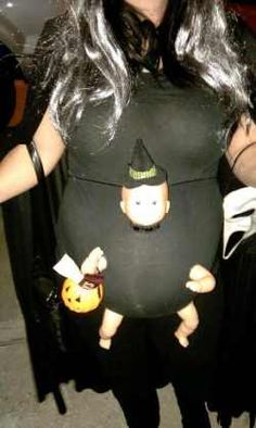 25 Pregnancy Halloween Costume Ideas. Just for you jen! Although, this one does freak me out ^