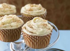 Chai Latte Cupcakes from Tablespoon (http://punchfork.com/recipe/Chai-Latte-Cupcakes-Tablespoon)