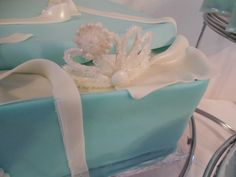 Tiffany First Birthday Cake