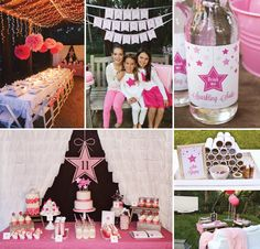 Sparkly Pink Star Party {Backyard Birthday}