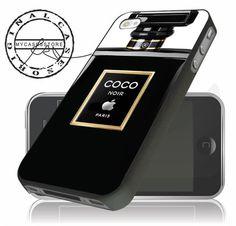 4a5a48e45dbe Coco Chanel Noir Black iPhone Plus Case
