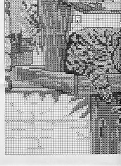 ru / elypetrova - The album Cat Cross Stitches, Cross Stitch Bird, Cross Stitch Animals, Cross Stitch Charts, Cross Stitch Patterns, Bird Crafts, Cat Crafts, Craft Patterns, Quilt Patterns