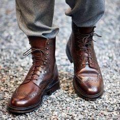 Bota Blucher Brogue