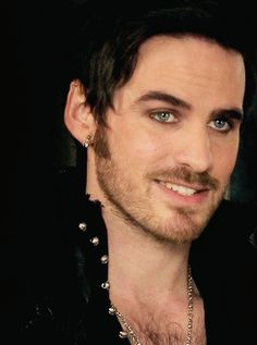 Captain Hook. Why he is so sexy...dear gods...please send me a sexy Irish man with the heart of Hoss  Cartwright. That is all. Thank you.