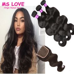 Cheap hair loss buy quality hair weave accessories directly from cheap hair loss buy quality hair weave accessories directly from china hair weave short hair suppliers brazilian body wave with closure 3 bundle pmusecretfo Images