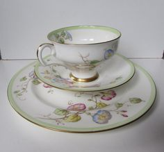 ROYAL DOULTON Tea cup Saucer and Plate