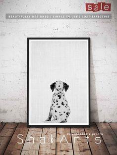 Dog Butt Digital Pet Wall Art Pet funny Gift Dog Gift by ShakArts