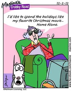 I'd like to spend the holidays like my favorite Christmas movie... Home Alone!