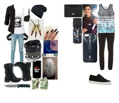 """""""Untitled #38"""" by cassadyhopegann ❤ liked on Polyvore featuring beauty, Yves Saint Laurent, Levi's, Pandora, adidas, Pieces, Neuw denim, Casetify, Lacoste and Univibe"""