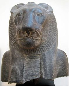 Statue of Sekhmet from the temple of Mut.