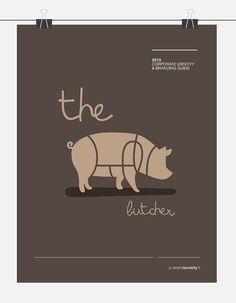 PREMADE la cle LOGO Design  Butcher Shop Animal de par brandsociety, €30.00