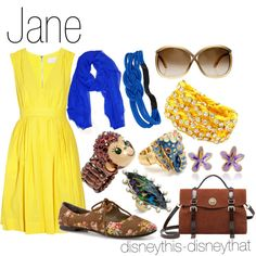 """""""Jane"""" by disneythis-disneythat on Polyvore"""
