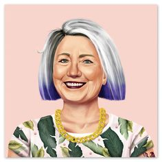 Currently inspired by: Hillary Clinton on Fab.com
