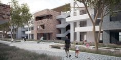 Social Housing I The Mediterranean Gerion by Collective Architects
