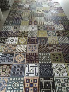 mosaic tiles Memorie by Appiani