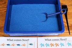 Montessori-Inspired Ocean Math Activities