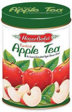 Chá de Maça Turco Hazer Baba (lata 250g).Produtos Importados da Turquia – Loja Virtual