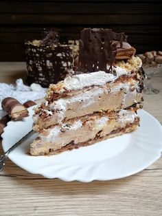 Torte Recepti, Kolaci I Torte, Best Cake Recipes, Favorite Recipes, No Bake Desserts, Dessert Recipes, Posne Torte, Torta Recipe, Serbian Recipes