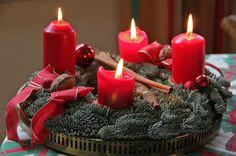 Die geschichte des adventskranzes