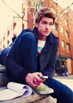 Andrew Garfield ... if only Peter Parker was British in this Spiderman - the movie would have been perfect!