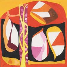 'Light that Upholds the Hot Sky Tame, by Gillian Ayres Geometric Pattern Design, Abstract Pattern, Charity Christmas Cards, Contemporary Artists, Abstract Expressionism, Creative Art, Color Inspiration, Art History, Fine Art Prints