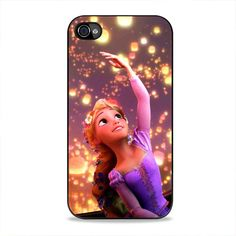 Rapunzel Beauty Sky iPhone 4, 4s Case