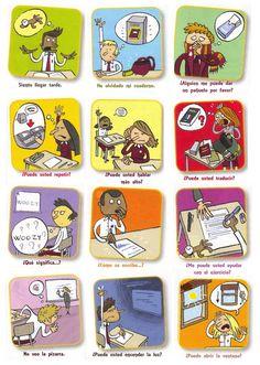 Beginning of the year - Rules - Phrases -Reglas en clase y frases para comunicar…