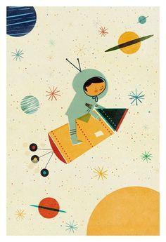 Personnalisez votre Intérieur avec cette Affiche Let's Travel de Blanca Gomez…