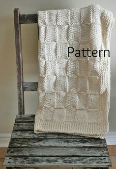 Knitting PATTERN Baby Blanket/The Siberian Baby by grizzlie