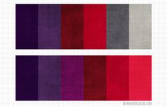Excellent article about how to use purple and red together