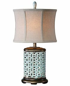 Uttermost Table Lamp, Rosignano - Table Lamps - for the home - Macy's