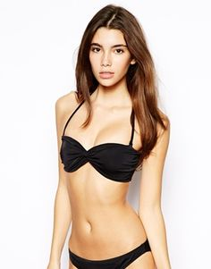 ASOS+Mix+and+Match+Twist+Bandeau+Bikini+Top+With+Tie+Back