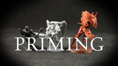 Miniature Painting Tip: How to Prime Miniatures