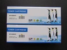 2 NIB NT-C0054Y Laser Printer Toner Cartridge Yellow Dell Color Laser 1320C 2015