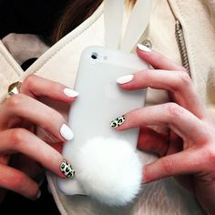 Get your Geek Chic gadgets at the ready! Love my bunny case! Iphone Icon, Fun Loving, Geek Chic, Lust, Fashion Beauty, Gadgets, Bunny, Geek Stuff, Nail Polish