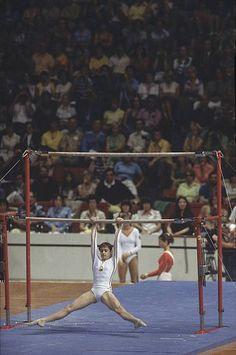 Nadia Comaneci 1976, Stock Pictures, Stock Photos, Sport Gymnastics, Namaste Yoga, Olympic Sports, Sports Stars, Summer Olympics, Athletic Women