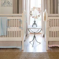 Blue And White Crib Bedding