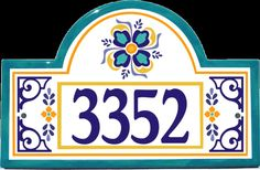 Classy Plaques Store - Barcelona House Number Plaque,