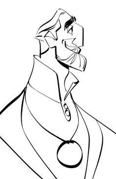 Character Designs da série Tangled, por Bobby Pontillas   THECAB - The Concept Art Blog