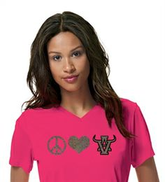 Another one of our peace love arbor view designs. This one is a two-color design with silver and black glitter.  #vinyl #glitter http://sparklytees.com/store/arborview