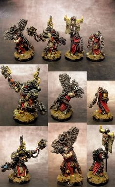 The Internet's largest gallery of painted miniatures, with a large repository of how-to articles on miniature painting Figurine Warhammer, Warhammer 40k Figures, Warhammer Paint, Warhammer Models, Warhammer 40k Miniatures, Warhammer 40000, The Horus Heresy, Imperial Fist, Fantasy Battle