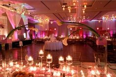 Wedding, Reception, Pink