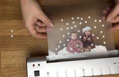 Snow globe - laminate picture
