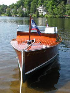 1928_Chris_Craft_Cadet #woodenboat