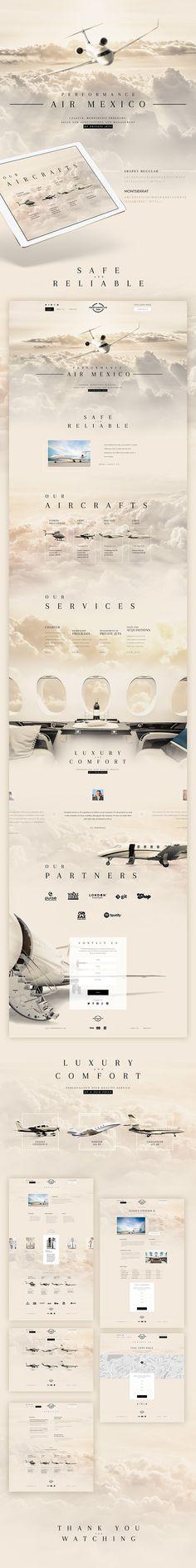 Airport. Plane. Web design. Website. site / tamplate.
